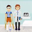 patient to visit orthopedics
