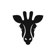 Giraffe Icon Illustration