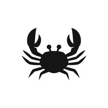 Crab Icon Illustration