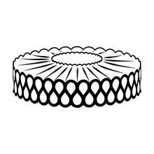 Vector Image Of Collar