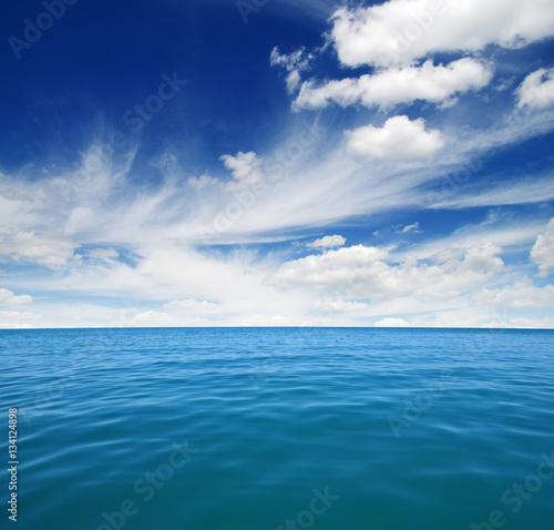 Fotobehang Zee / Oceaan Blue sea water
