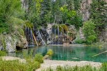 Waterfalls At Hanging Lake U.S...