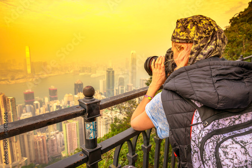 Fotografia, Obraz Traveler asian concept