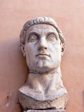 Marble Head Representing Roman...