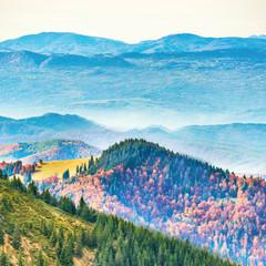 Fototapeta Beautiful mountains in autumn
