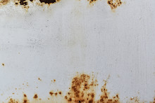Rusted And Corroded On Metal W...