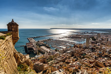 Aerial View Of Alicante, South...