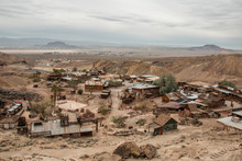 View Over Calico Ghost Town In San Bernardino County, USA