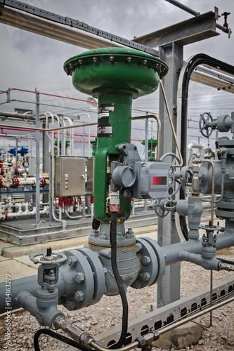 Fényképezés  Refinery Pneumatic Control Valve