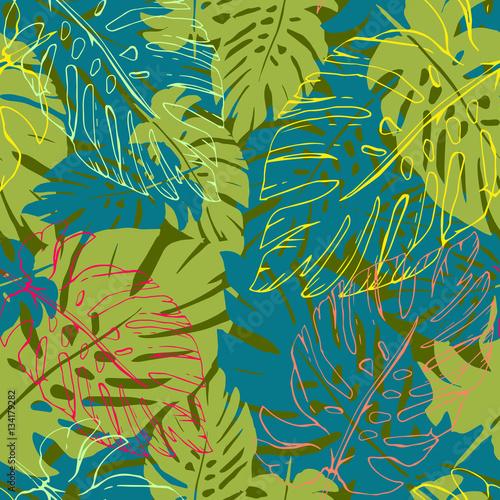 wzor-z-lisci-tropikalnej-palmy