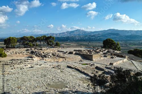 Foto op Aluminium Algerije die Ruinen von Festos - Kreta