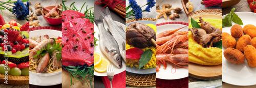 Fototapeta gastronomia orizzontale  obraz