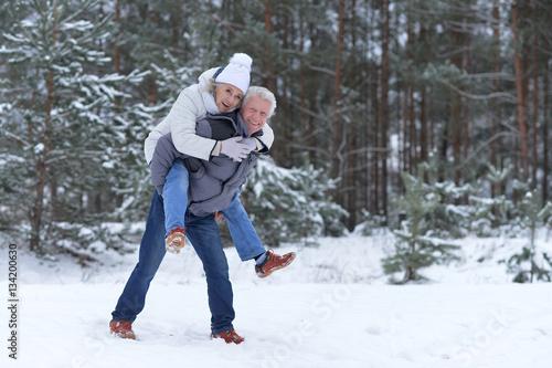 Fotografia  happy mature couple have fun