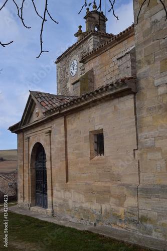 Fotografie, Obraz  Iglesias de pueblos con campanarios.