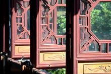 Puertas De Madera En Tongli, China