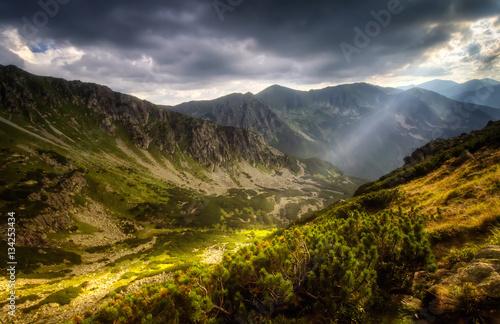 Tatra sunny valley