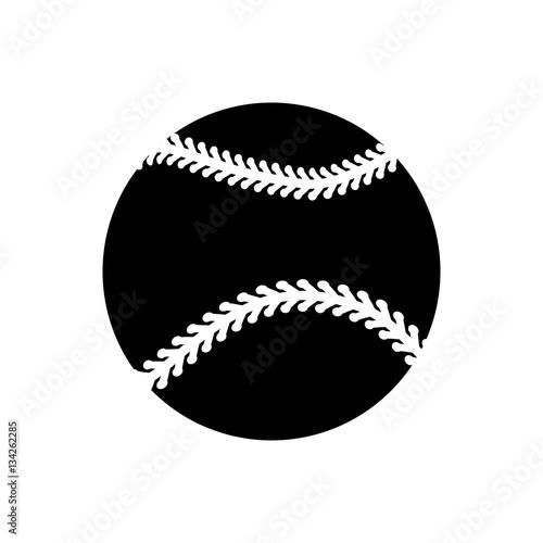 Photo  Baseball sport game icon vector illustration graphic design