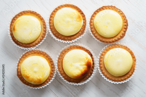 cheese tarts Canvas Print