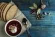 Borsch - soup with beet