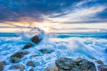 Pefkoulia Beach In Lefkada At ...
