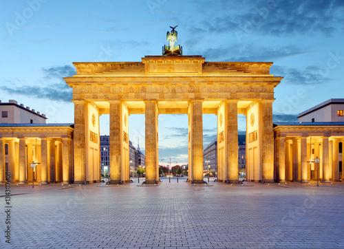 In de dag Berlijn Berlin gate