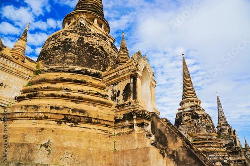 Foto op Canvas Boeddha ワット・プラシーサンペット