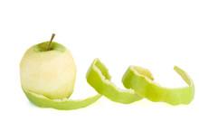 Peeled Green Apple