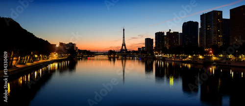 Foto op Canvas Parijs Parisian morning landscape