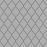 Fototapeta Perspektywa 3d - Vector seamless pattern. Modern stylish texture. Repeating geometric pattern of curving lines.