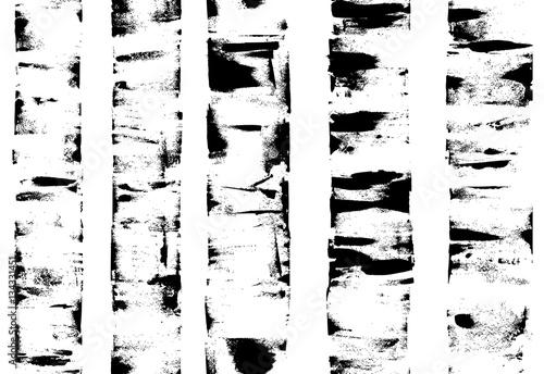 Naklejki na meble z tłem z brzozowych konarów