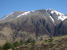Ben Nevis In Scotland On A Cle...