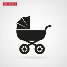 Baby Pram Icon.