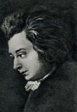 Wolfgang Amadeus Mozart by Joseph Lange, 1782/83 - 134357450