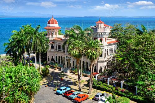 Palacio de Valle in Cienfuegos, Kuba Canvas Print