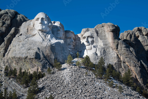 Zdjęcie XXL Mount Rushmore Memorial Monument w Black Hills of South Dakota