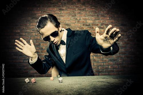 фотография  gambling modern man