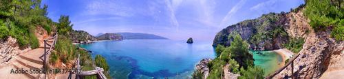 Palinuro, spiaggia a 360° Fototapeta