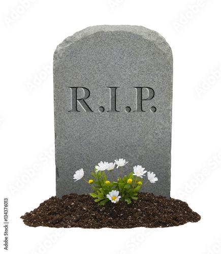 Canvas-taulu RIP Headstone