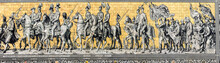 Furstenzug (Procession Of Princes) - Mural On Wall. Dresden