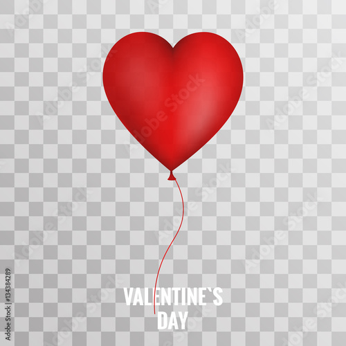 valentines day red balloon heart on transparent background - buy, Ideas