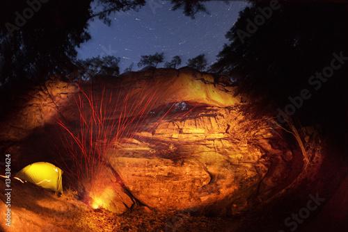 "Photo  Rock ""Hawkeye"" night"