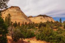 Checkerboard Mesa Im Zion National Park