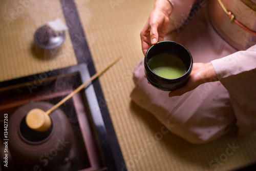 Obraz na plátně  抹茶