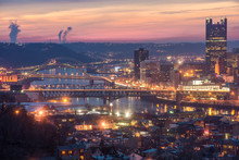 Looking Down The Monongahela