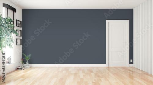 Fotografie, Obraz  Modern bright interior . 3D rendering