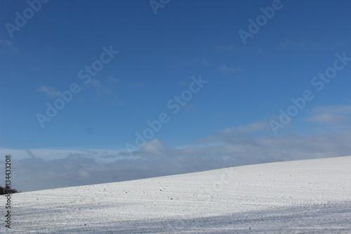 Foto auf Gartenposter Antarktika Winterlandschaft