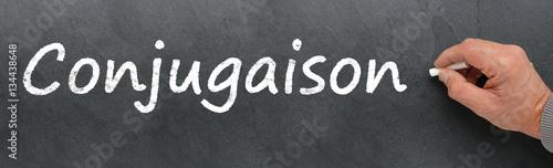 Conjugaison Ecrit Sur Tableau Noir Acheter Cette Photo Libre De Droit Et Decouvrir Des Images Similaires Sur Adobe Stock Adobe Stock