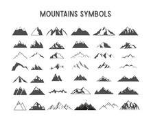 Mountain Vector Shapes And Ele...