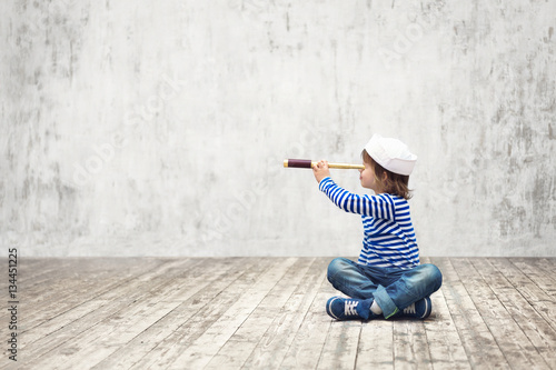 Vászonkép  Child in uniform