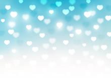 Hearts Bokeh Background For Yo...